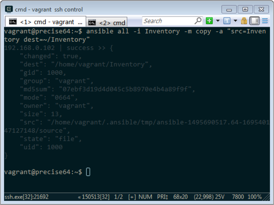 chattr ansible